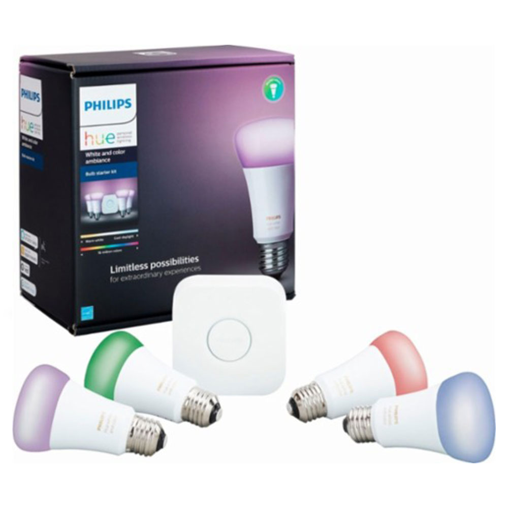 Philips Hue White And Color Wireless Ambiance Starter Kit