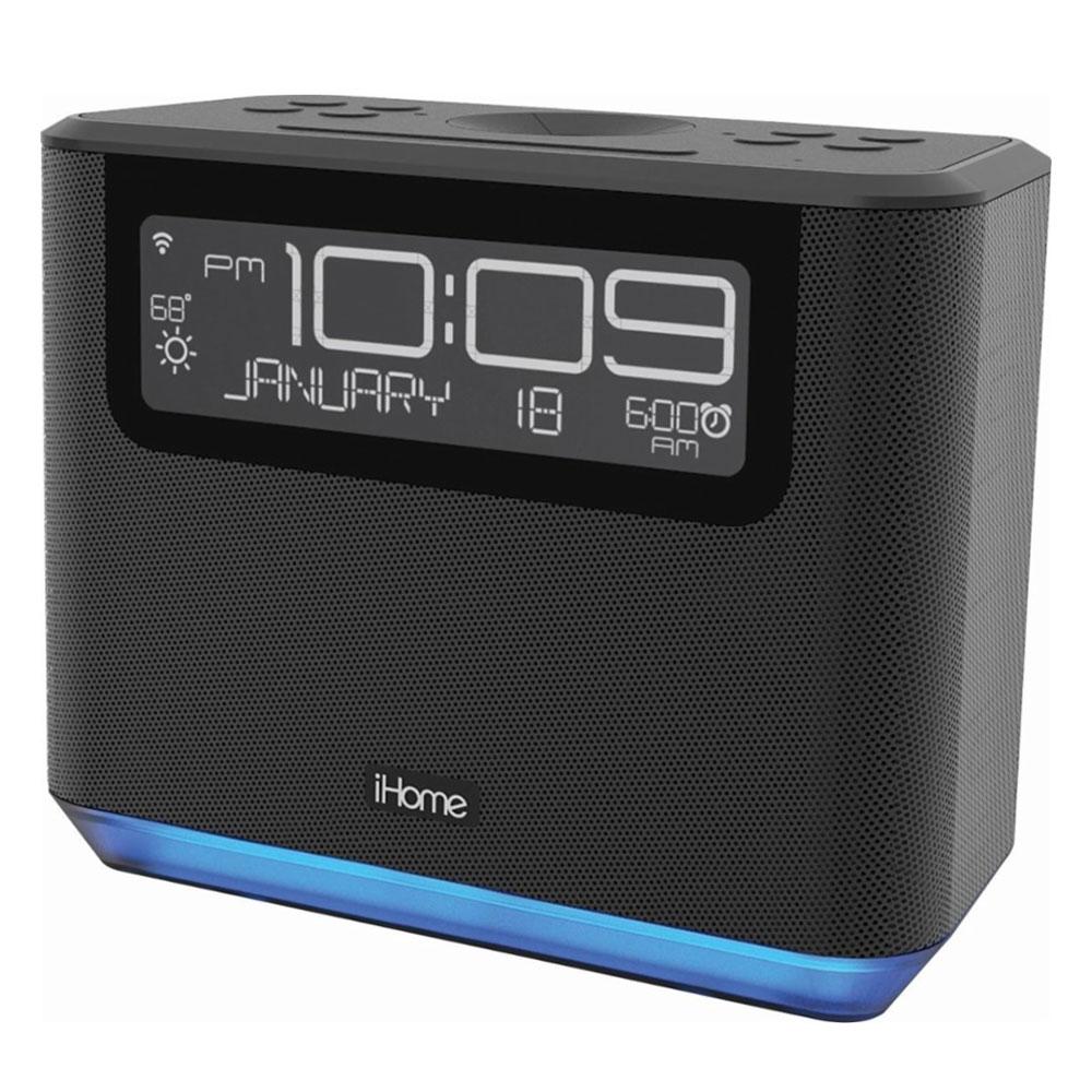 Surprising Ihome Avs16 Smart Alarm Clock With Alexa Voice Assistant Download Free Architecture Designs Rallybritishbridgeorg